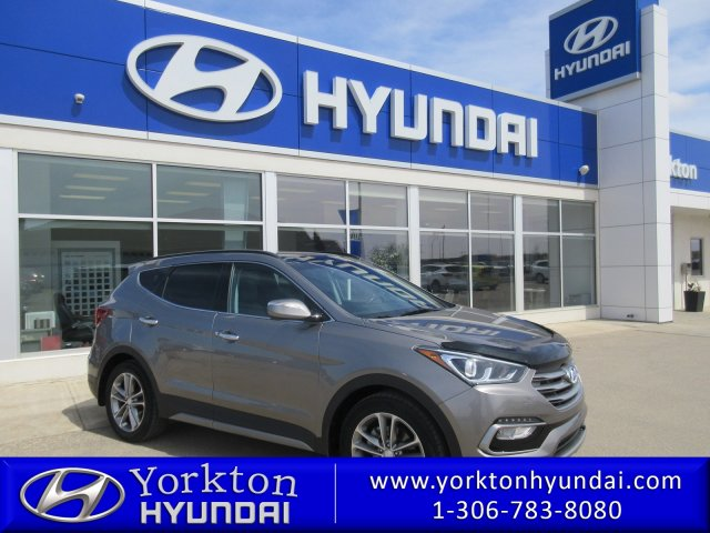 Pre-Owned 2017 Hyundai Santa Fe Sport Limited