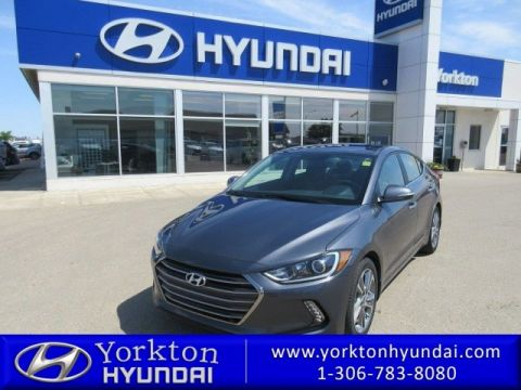 Pre-Owned 2017 Hyundai Elantra Limited Sedan FWD